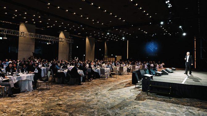Plenary Speech - Event Photographer - Zebra Sales Kick Off 2020 - Jeju Island
