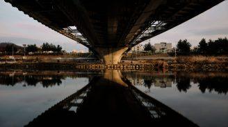 Under the Bridge - Jungnang Stream Cycling Path