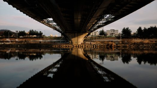 Under the Bridge - Jungnang Stream Cycling Path