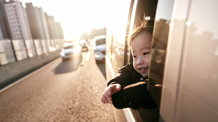 Custody Day - Enjoying the Ride Home