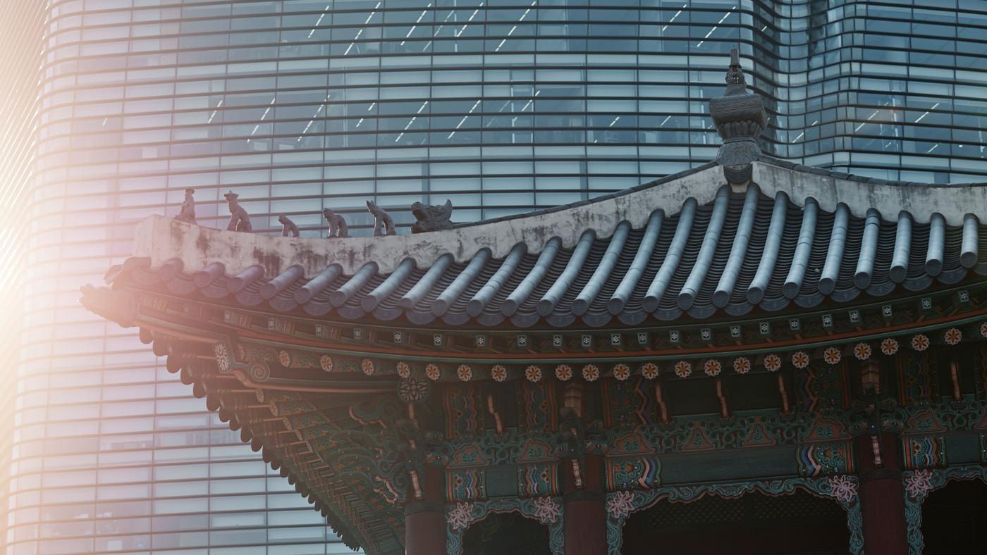 Dongshipja Pagoda Morning Light