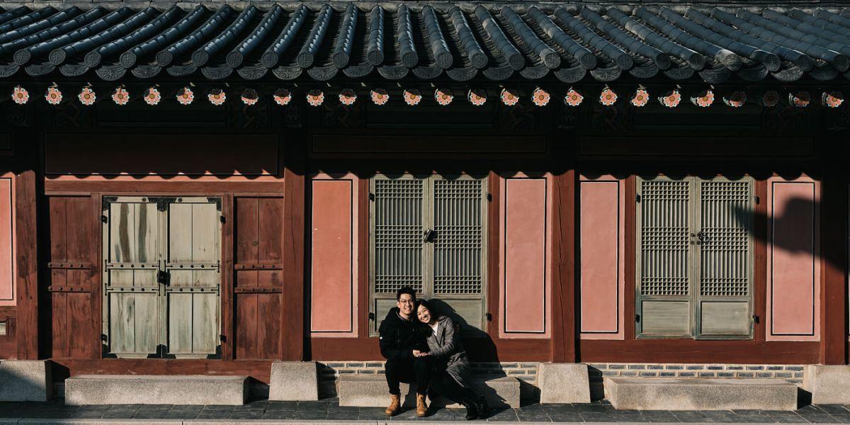 Proposal at Gyeongbokgung