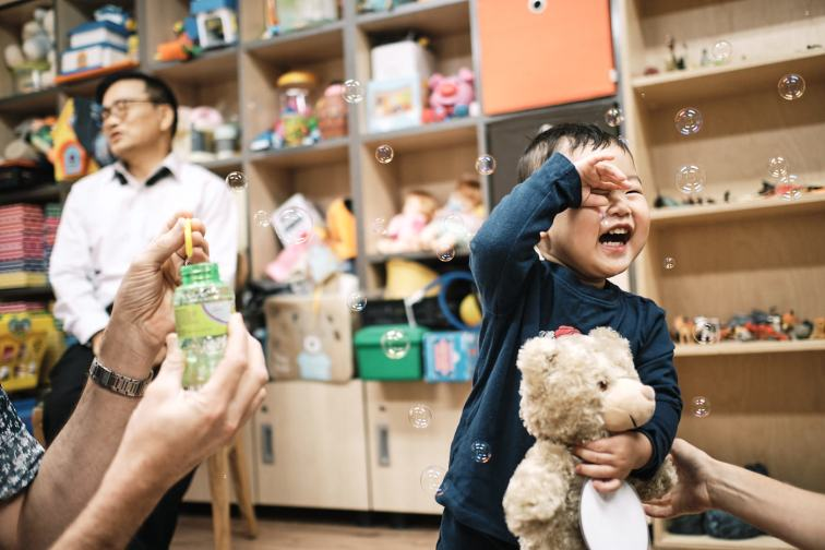 Saunders Adoption First Meetnig