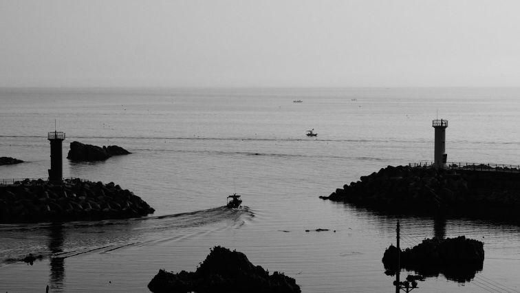 Boats and Harbour - Samcheok, South Korea