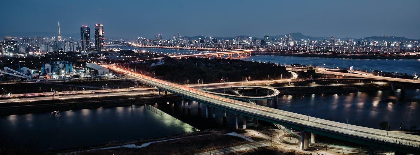 Eungbong Night View
