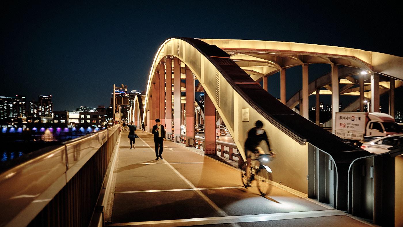 Han River Bridge - Han River, Seoul