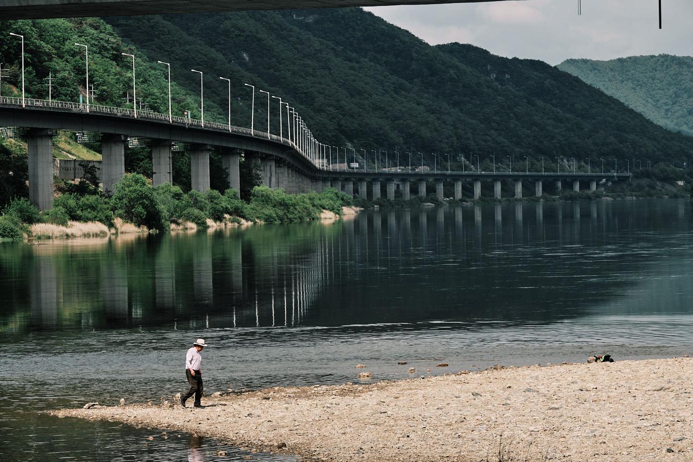 Han River Fisherman - Gamcheon