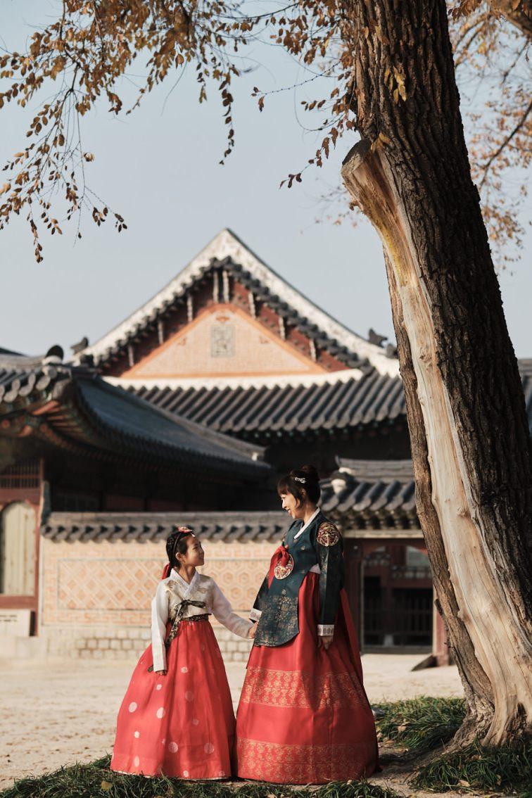 Autumn Family Photography - Gyeongbokgung