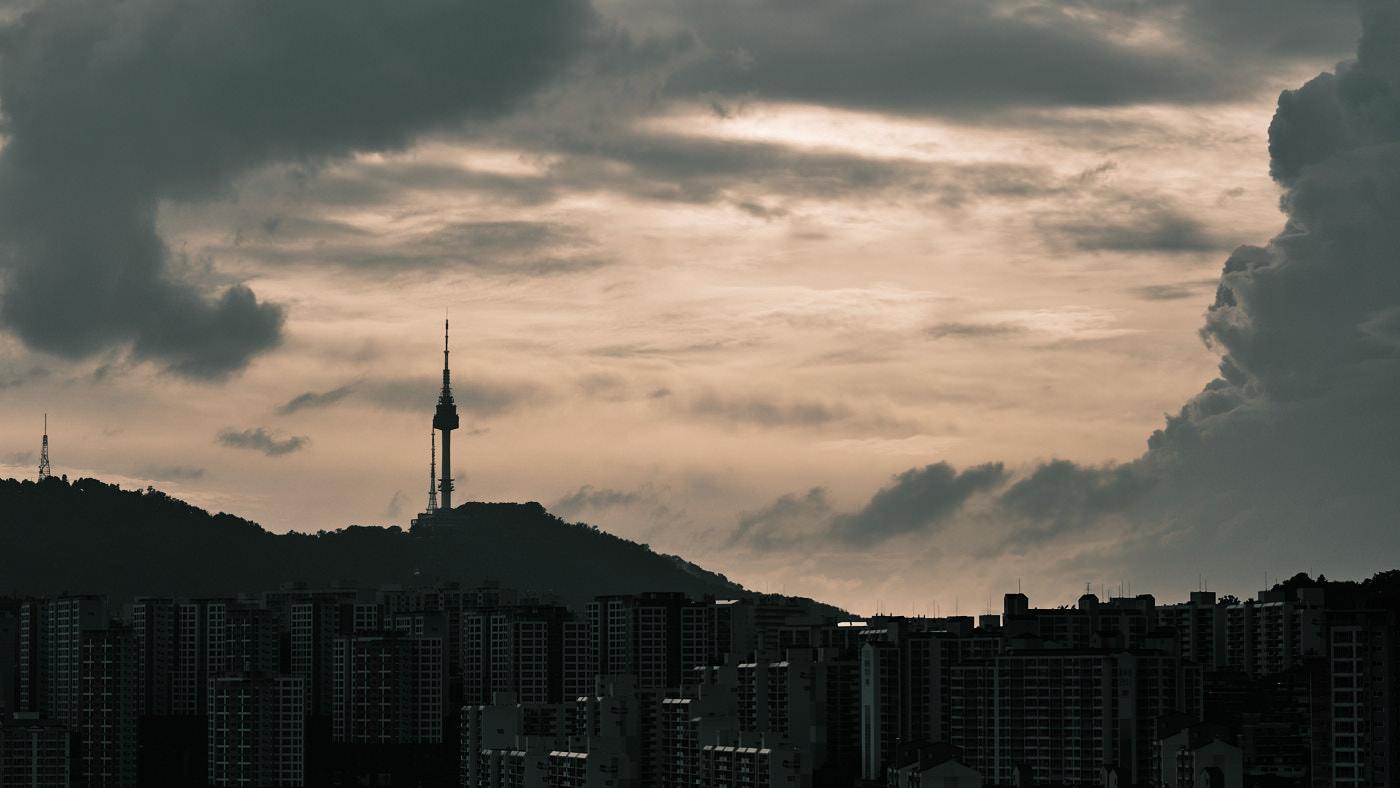 Namsan Tower - Monsoon 2020