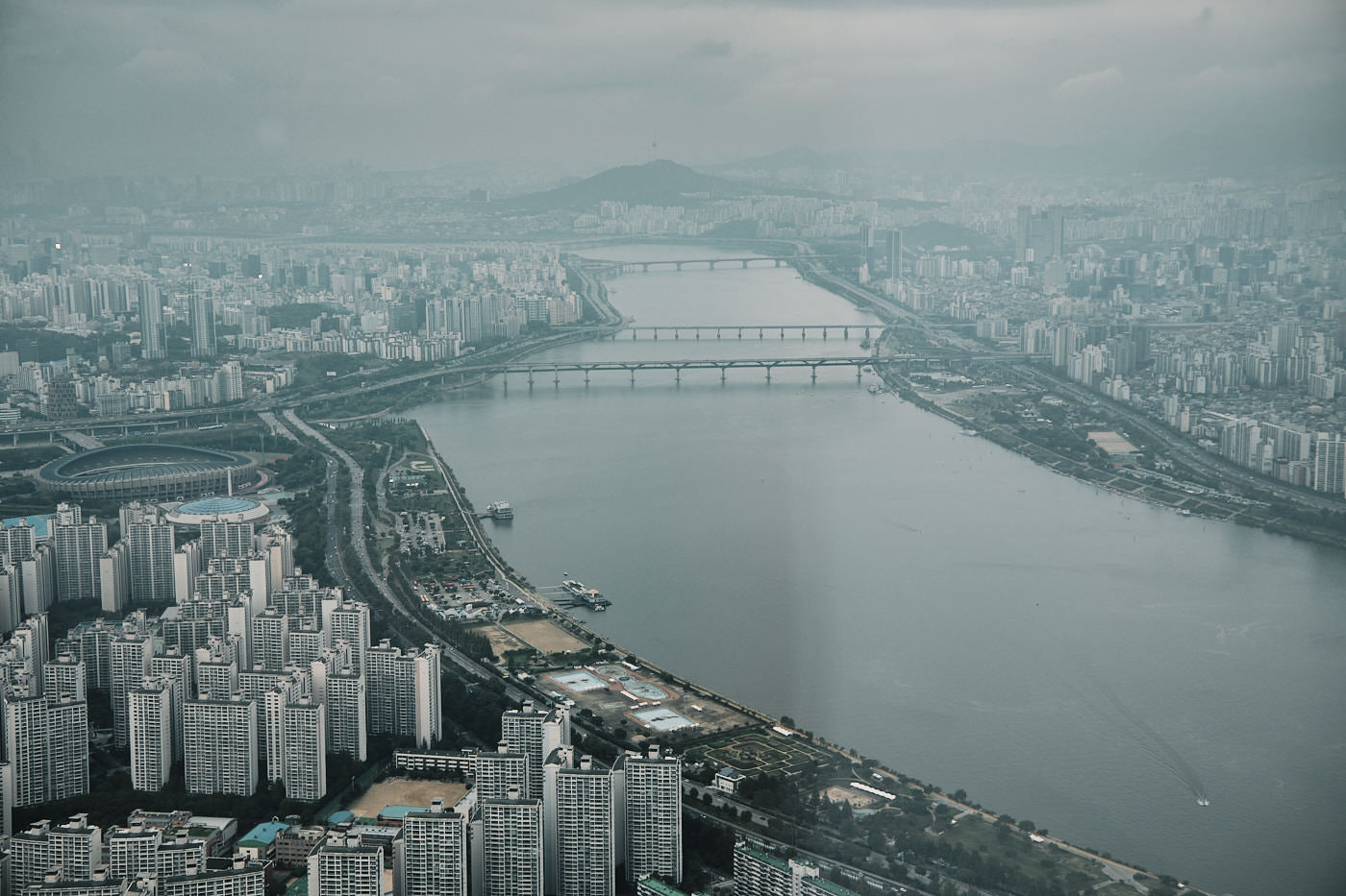 View from Lotte Tower