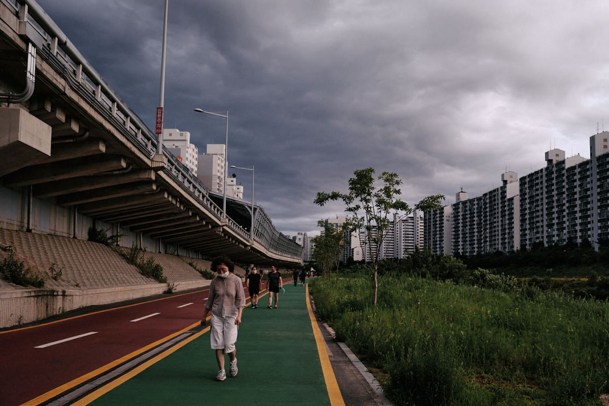Cycling Paths and Clouds