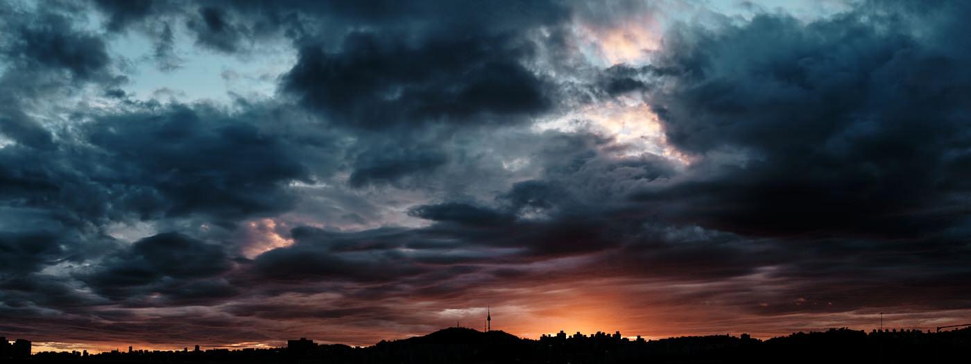 Namsan Tower Sunset