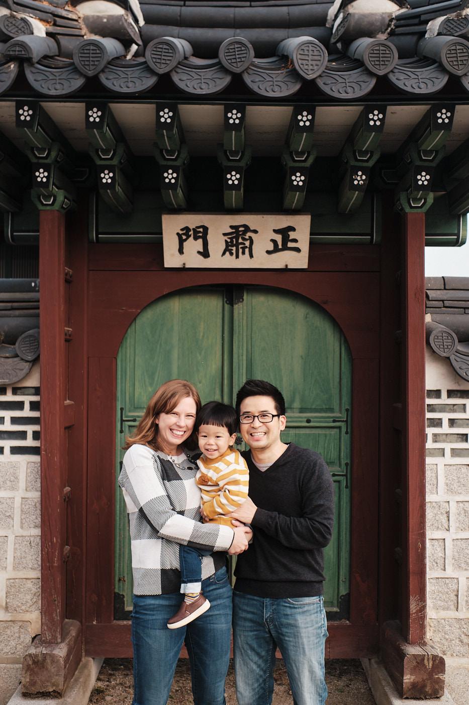 Hirashiki Winter Family Photo