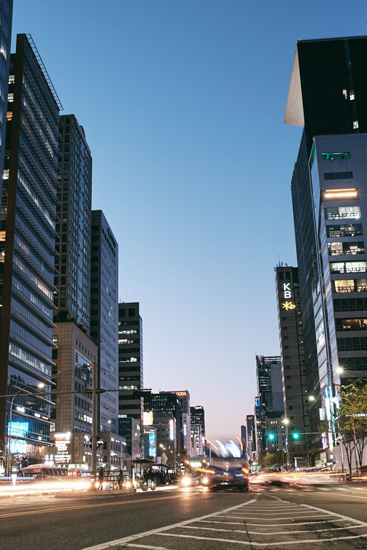 Pace of Life in Gangnam