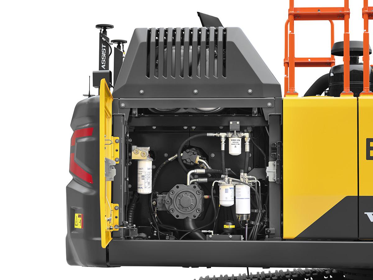Volvo EC300E Engine