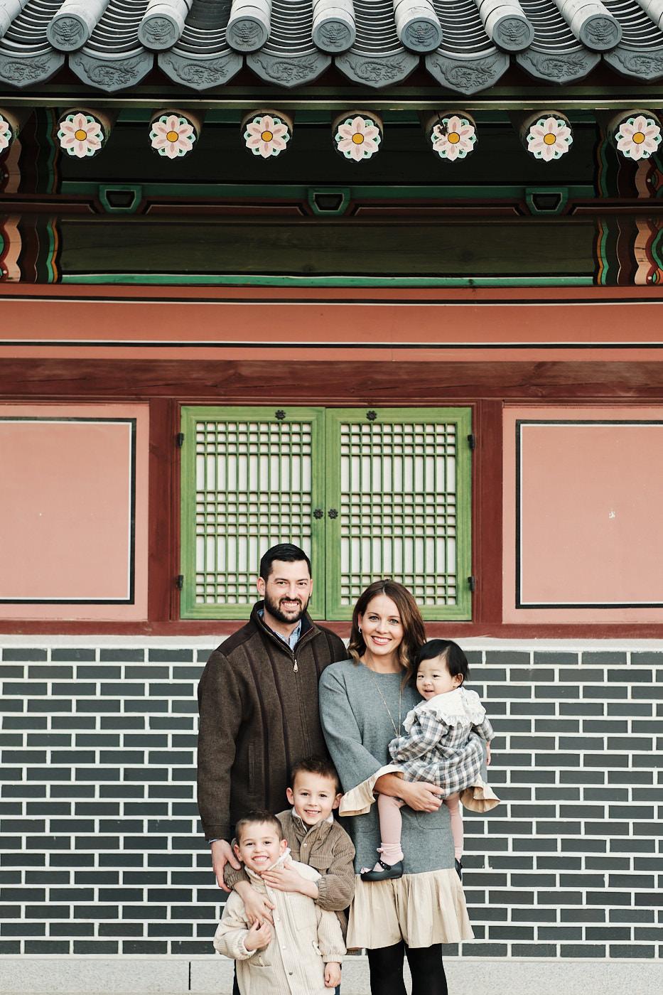 Seoul Lifestyle Family Photoshoot - Changdeokgung