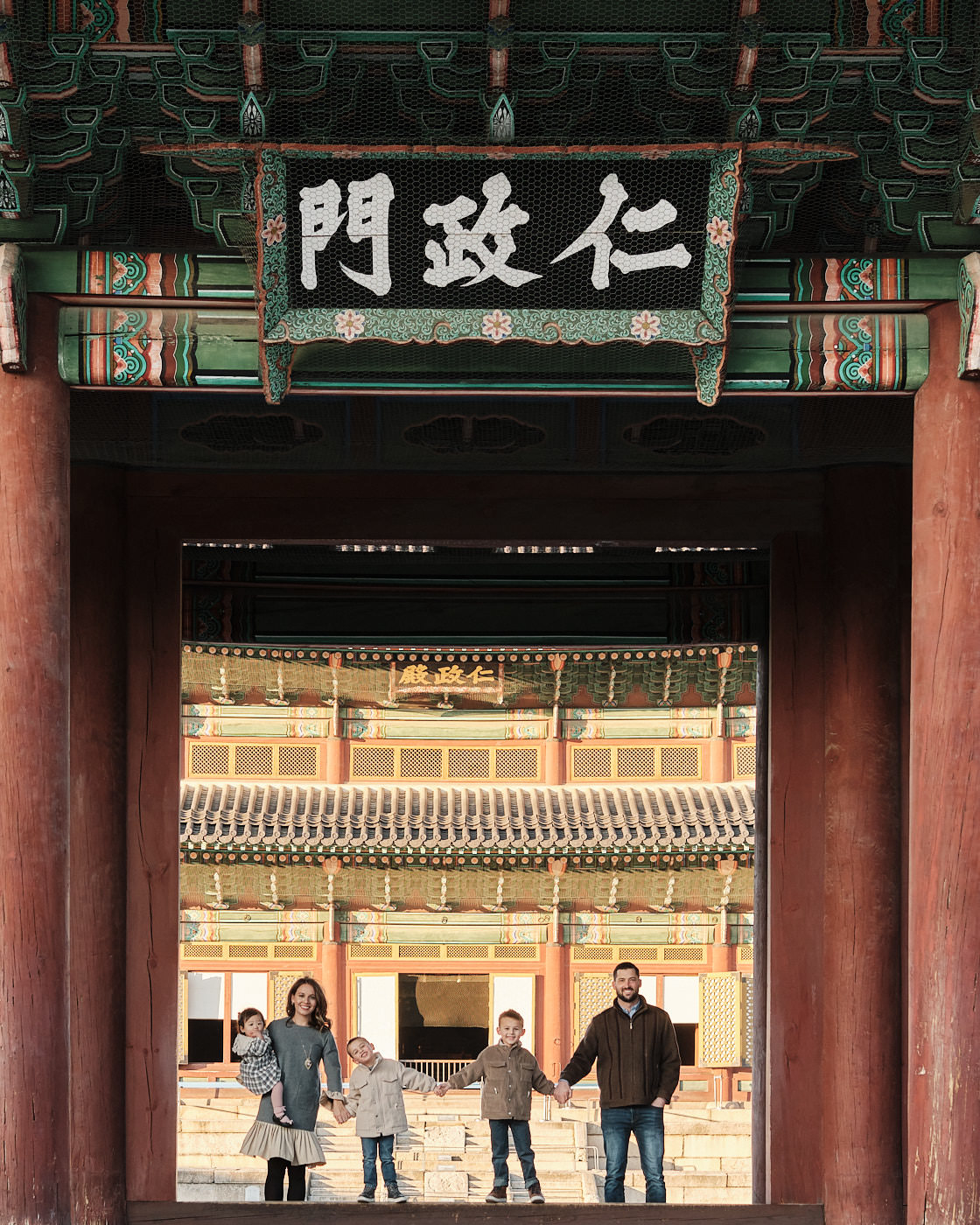 Changdeokgung Family Photography