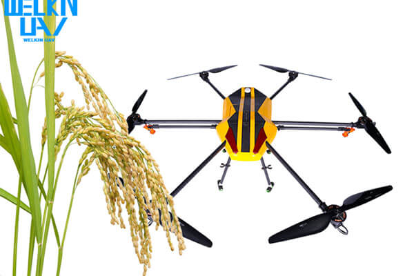 WELKIN-A2 10L Electrical Agriculture Sprayer Drone - WELKINUAV
