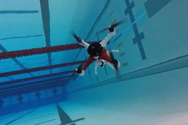amphibian drone