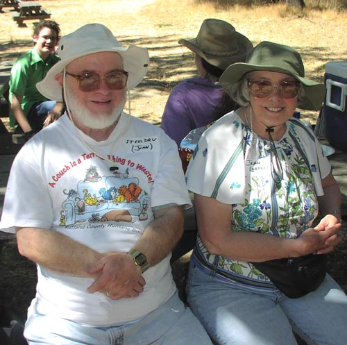 steeldrv and his longtime missus, Jean (notw).