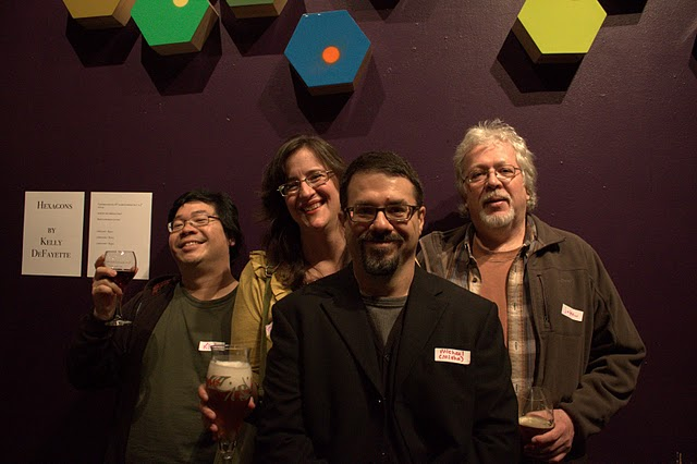 From left: kyee, pellmell, misha, and jakew