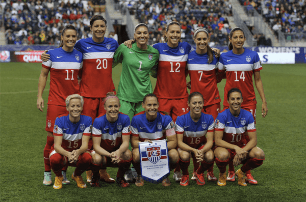 U.S. women's soccer champs' quest for equal pay – Well+Good