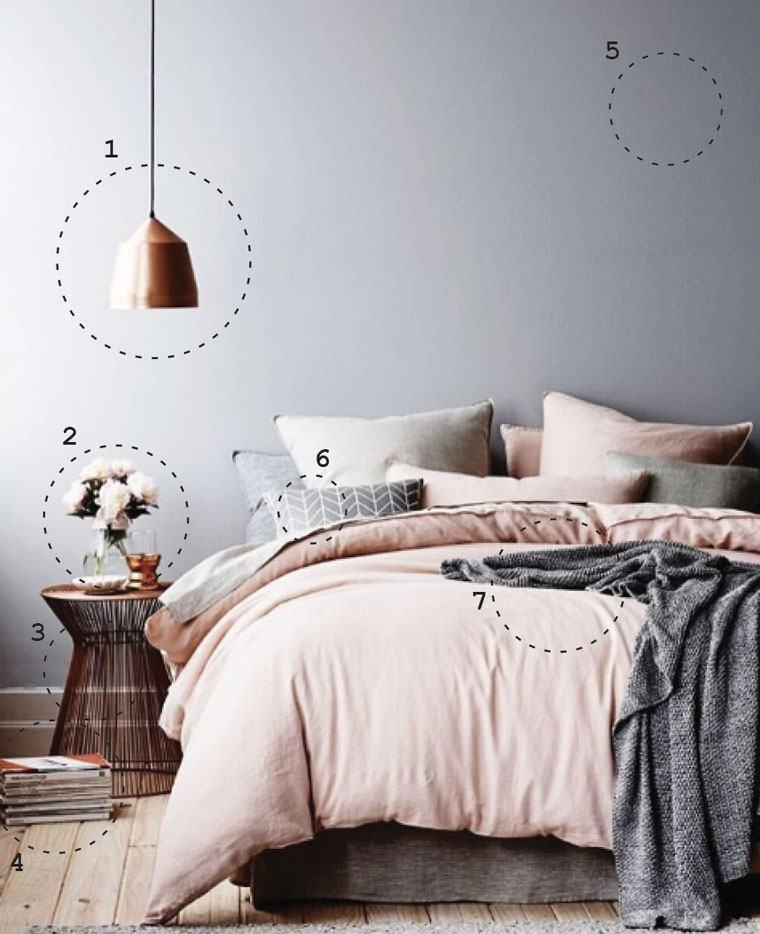 How to design a bedroom inspired by Instagram | Well+Good on Bedroom Minimalist Design  id=43686