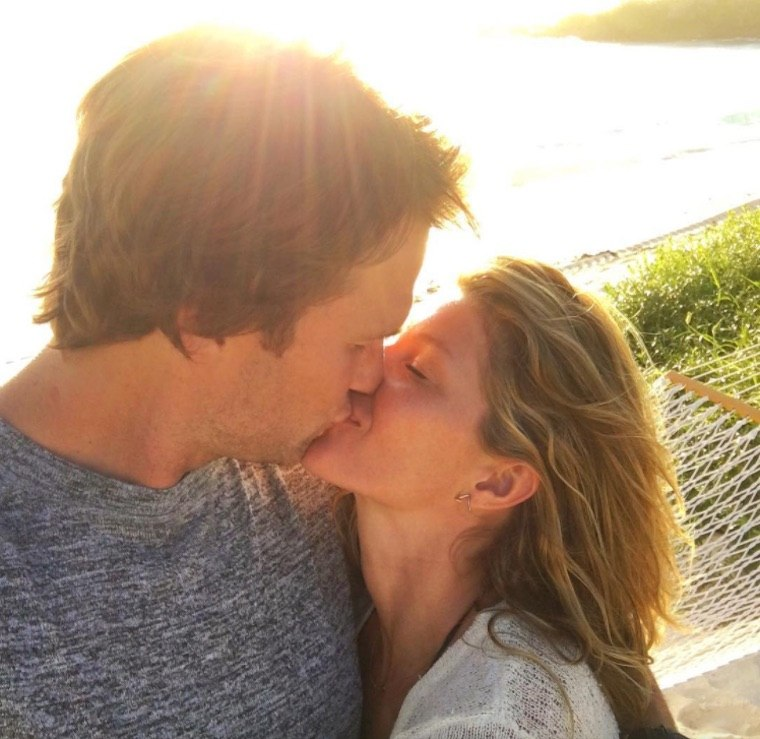 Tom and Gisele's healthy eating plan