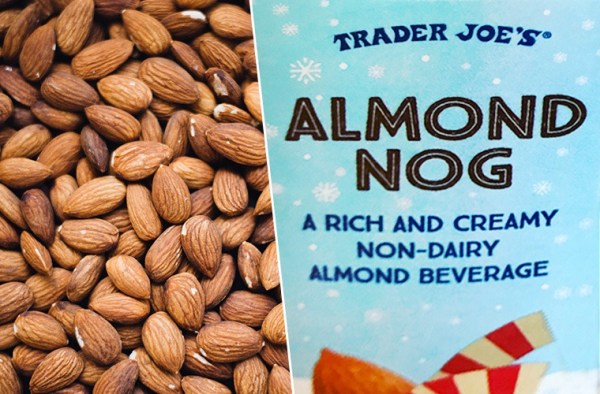 Trader Joe's releases dairy-free almond nog | Well+Good