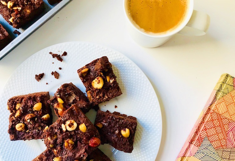 IMG 7334 - This brownie recipe is rich, chocolatey, *and* ketogenic-friendly