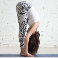 Yoga teachers see the same mistake every day—because forward fold is so easy to mess up