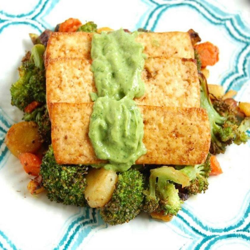 healthy tofu sauce