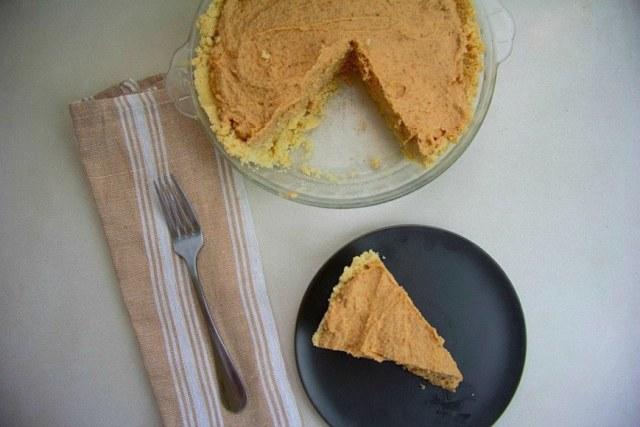 low-glycemic peanut butter pie