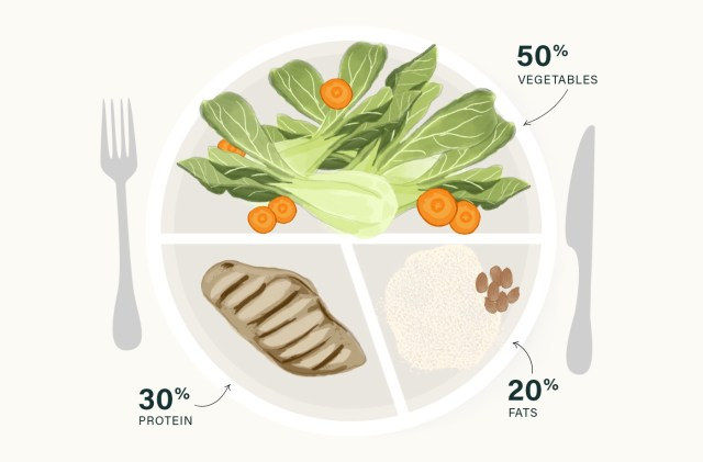whole30 meal ideas healthy plate illustrated