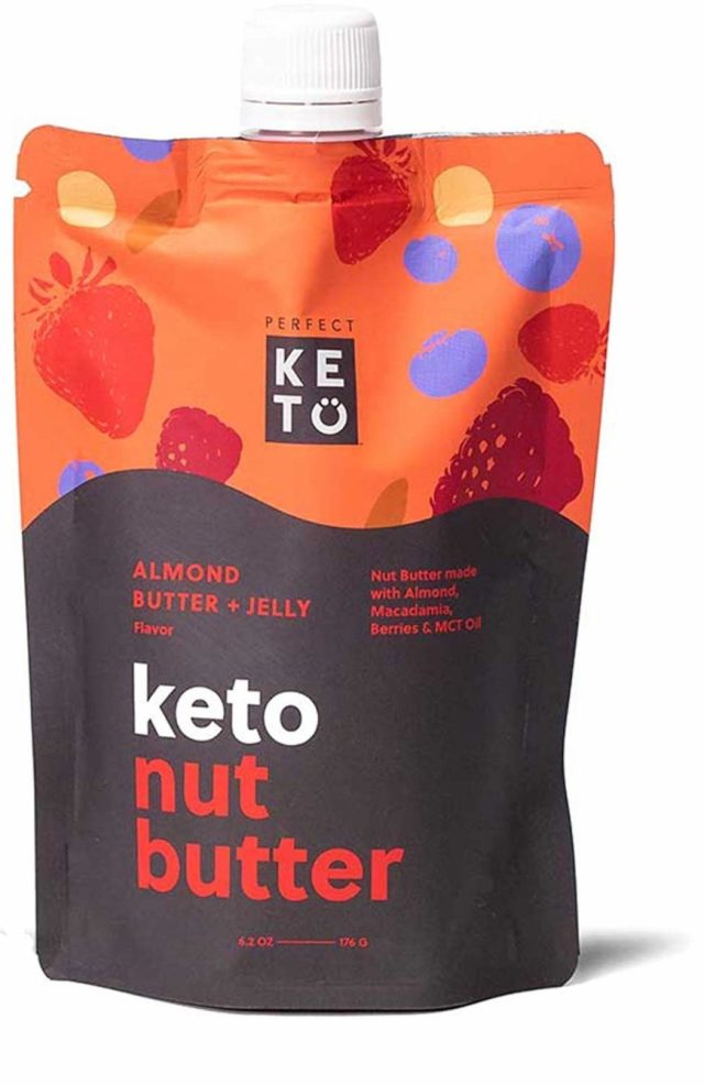 low carb gluten free snacks perfect keto nut butter