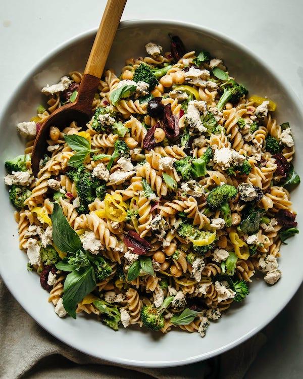 high-protein pasta salad recipes
