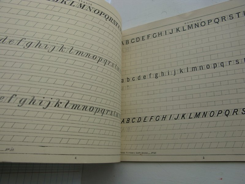 Ornamental Lettering Book