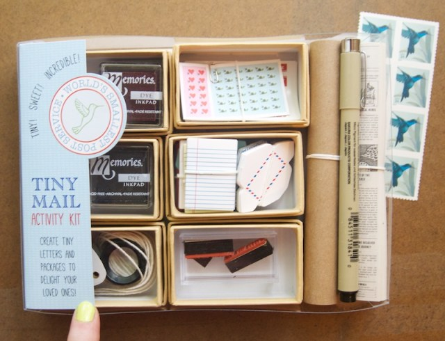 World's Smallest Post Service Tiny Mail Activity Kit