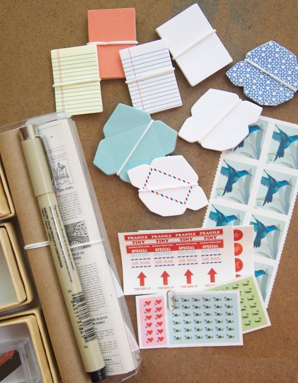 World's Smallest Post Service Tiny Mail Activity Kit