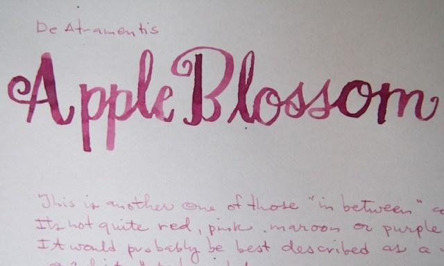 DeAtramentis Apple Blossom