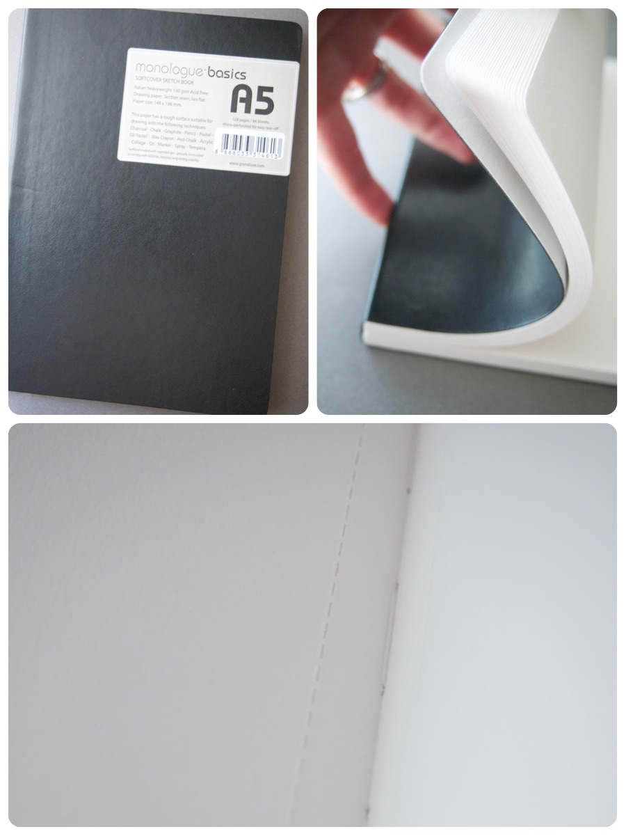 monologue basic sketchbook