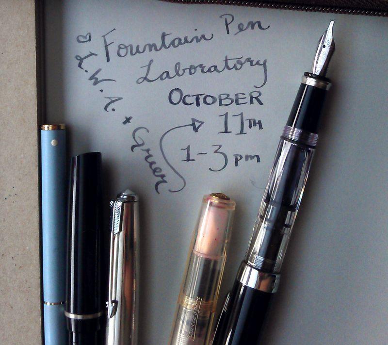 LWA Fountain Pen Workshop
