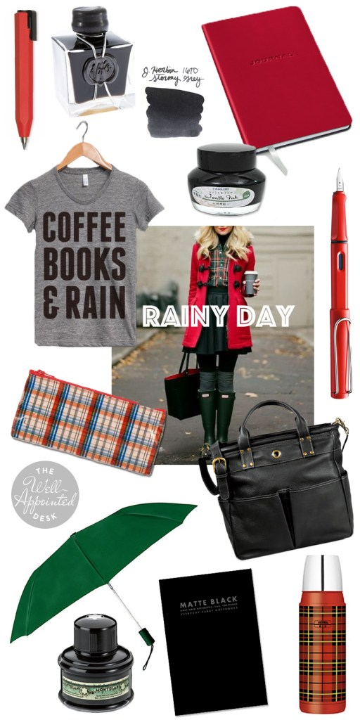 Fashionable Friday Rainy Day