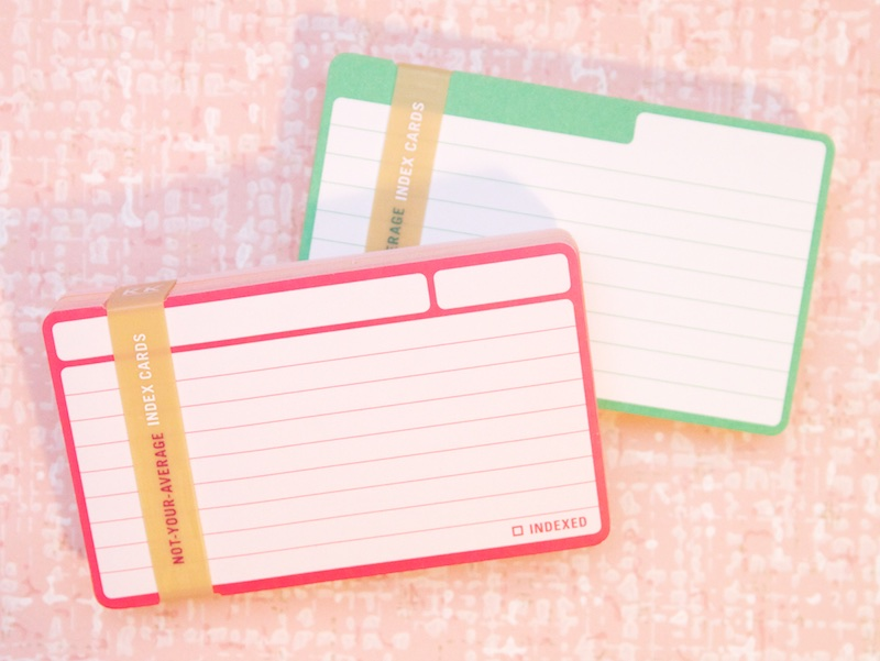 Knock Knock Index Cards