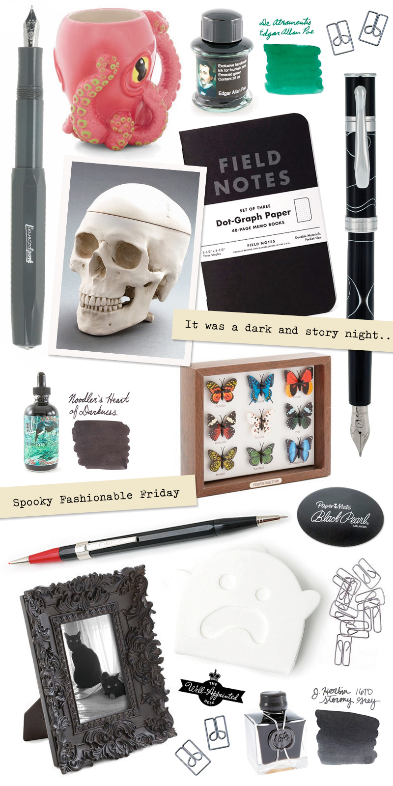 Fashionable Friday: Dark & Stormy Night