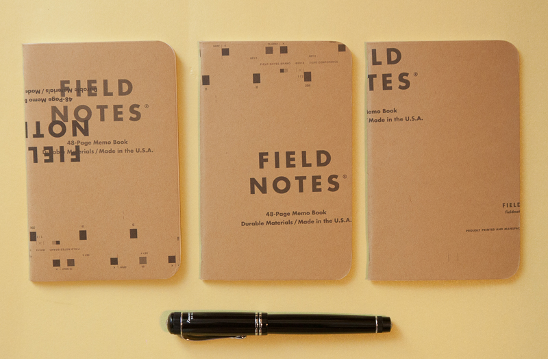 Field Notes XOXO Edition