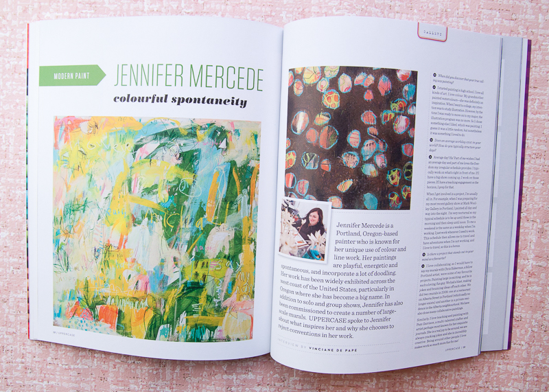 Uppercase Jennifer Mercede