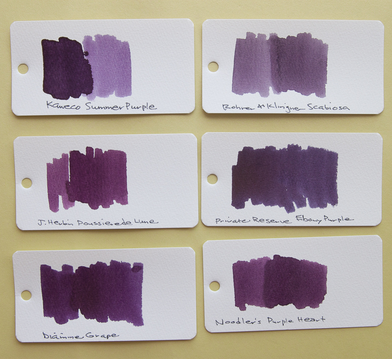Kaweco Summer Purple Comparison
