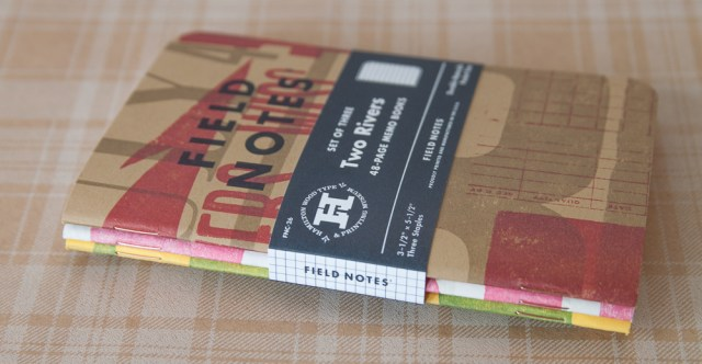 Field Notes Two Rivers Colors Edition