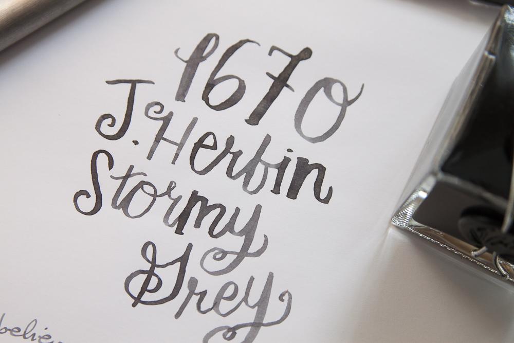 J. Herbin 1670 Stormy Grey